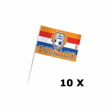 10 zwaaivlaggen holland