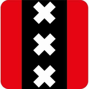 15x stuks amsterdam onderzetters / bierviltjes karton