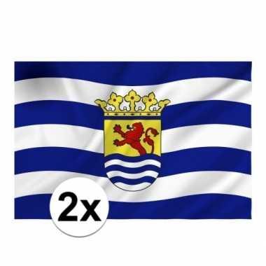 2x vlag zeeland