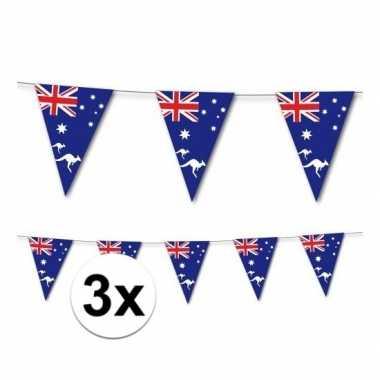 3x australische slingers 3,5 meter