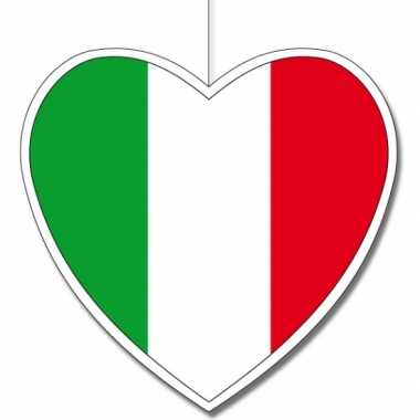 3x italie feestversierings karton 30