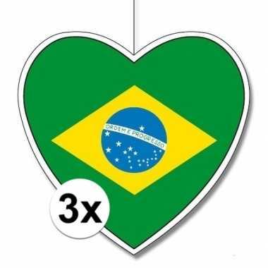3x thema brazili? hangversiering hart 28
