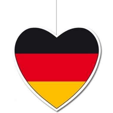 3x versiering harten vlag duitsland 14
