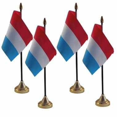 4x polyester nederlandse vlag standaard bureau 10 15