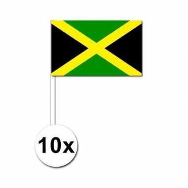 50 zwaaivlaggetjes jamaicaanse vlag