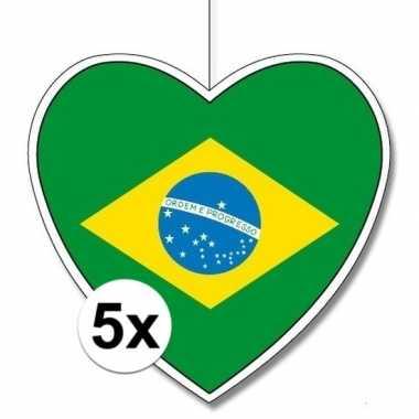5x thema brazili? hangversiering hart 28