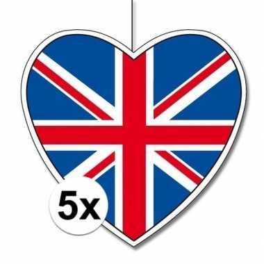 5x thema engeland hangversiering hart 28