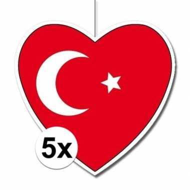 5x thema turkije hangversiering hart 28hartvormig turkije 28
