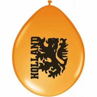 8 stuks holland ballonnen leeuw
