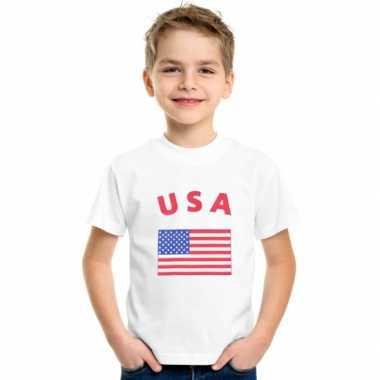 Amerikaans vlaggen t shirts kinderen