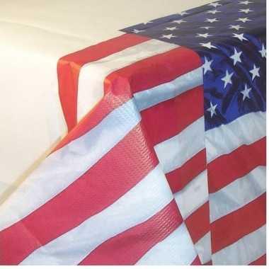 Amerikaanse versiering tafelkleed papier 137 259