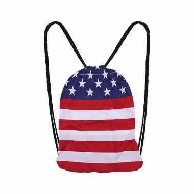 Amerikaanse vlag rugtas