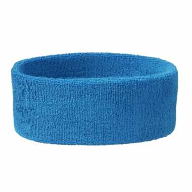 Aqua blauw gekleurde hoofdbandjes