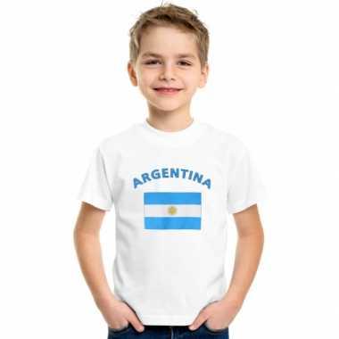 Argentijnse vlaggen t shirts kinderen