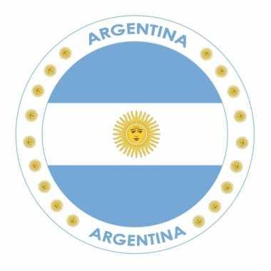 Argentini? vlag bierviltjes