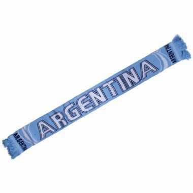 Argentinie fan shawl