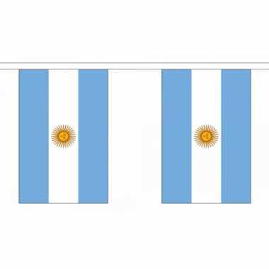 Argentinie vlaggenlijn