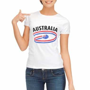 Australie vlaggen t shirts dames