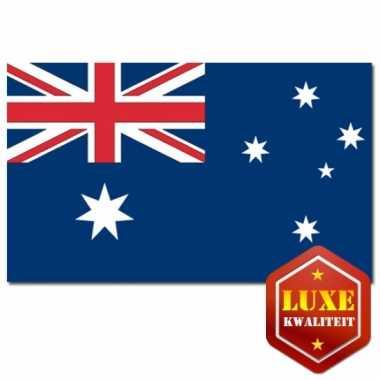 Australische landen vlaggen
