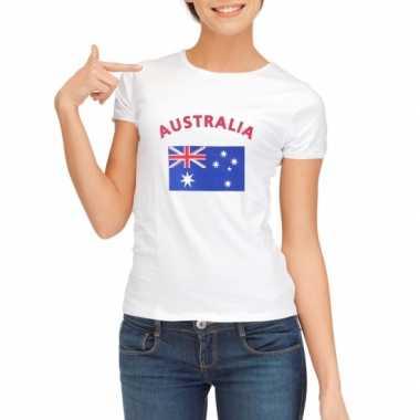Australische vlaggen t shirt dames