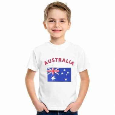 Australische vlaggen t shirts kinderen