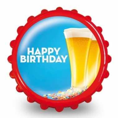 Bierdop opener verjaardag