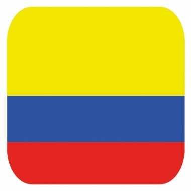 Bierviltjes colombia thema 15 st