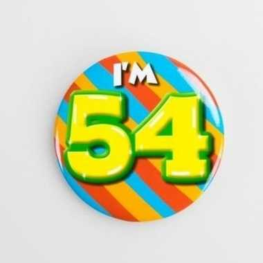 Button 54 jaar