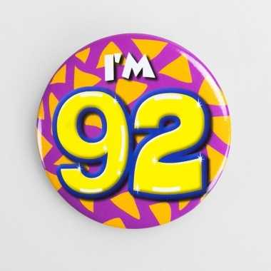 Button i'm 92