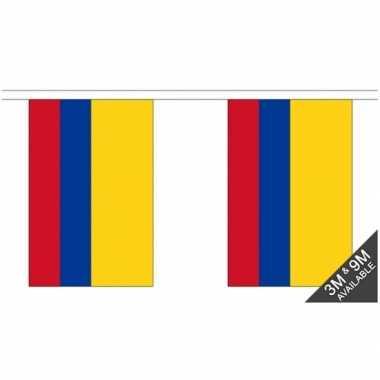 Colombia vlaggenlijnen 9 meter