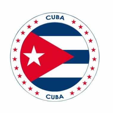 Cuba vlag bierviltjes