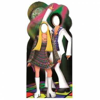 Disco/seventies koppel fotobord