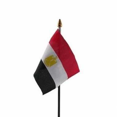 Egypte luxe zwaaivlaggetje polyester
