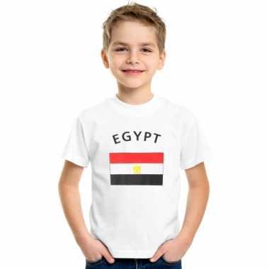 Egyptisch vlaggen t shirt kinderen