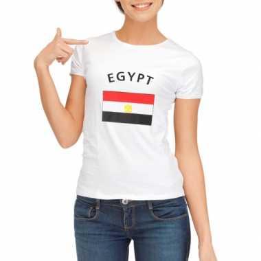 Egyptische vlaggen t shirt dames