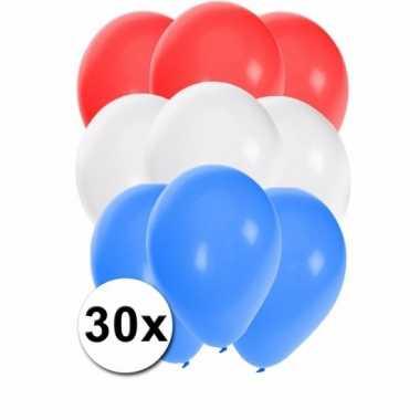 Feest ballonnen kleuren nederland 30x