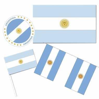 Feestartikelen argentinie versiering pakket