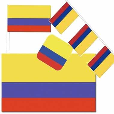 Feestartikelen colombia versiering pakket