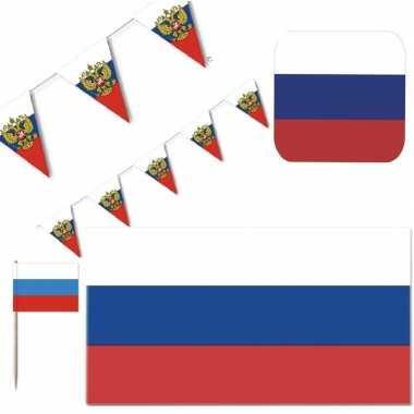 Feestartikelen rusland versiering pakket