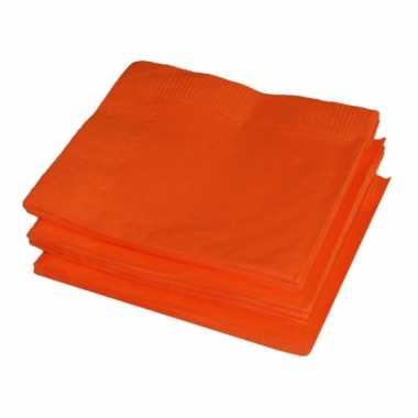 Gekleurde servetten 20 stuks