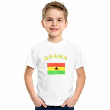 Ghanees vlaggen t shirt kinderen