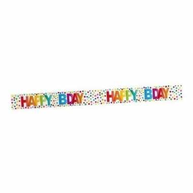 Happy birthday markeerlint 15 meter