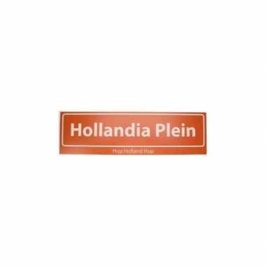Hollandia bord hup holland hup