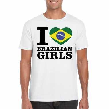 I love brazilian girls vakantie t shirt brazilie heren