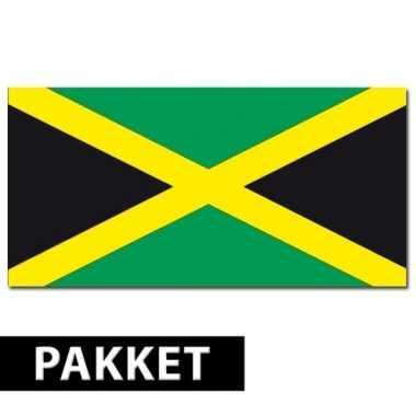 Jamaica versiering pakket