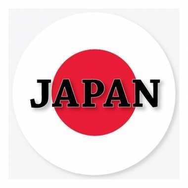 Japan vlag bierviltjes