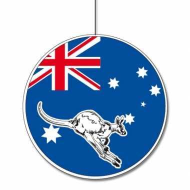 Kartonnen versiering australie 28
