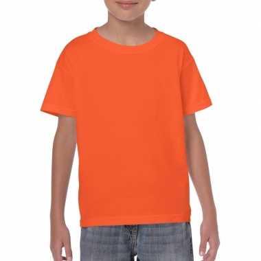 Kindershirts oranje