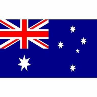 Kleine vlag australie 60 90