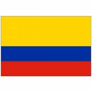 Kleine vlag colombia 60 90